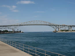 We service air conditioner units in the Fort Gratiot's Blue Water Bridge area