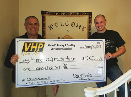 congratulations to Hunter Hospitality House for winning out Gives Back campaign, here in Port Huron MI.