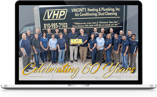 Vincent's Heating & Plumbing has been doing Plumbing and Cooling repairs for 60 years in Port Huron MI.
